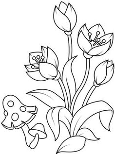 coloring page New coloring pages on Kids-n-Fun. These are the very latest coloring pages on Kids-n-Fun. So you can quickly find what has been added to the website. At Kids-n-Fun you will always find the nicest coloring pages first! Art Drawings For Kids, Outline Drawings, Colorful Drawings, Drawing For Kids, Easy Drawings, Cute Coloring Pages, Flower Coloring Pages, Coloring Books, Hand Embroidery Designs