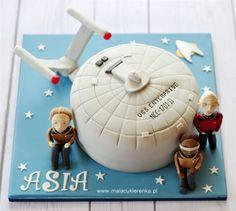 Star Trek Party ⚜ Star Trek: The Next Generation themed cake