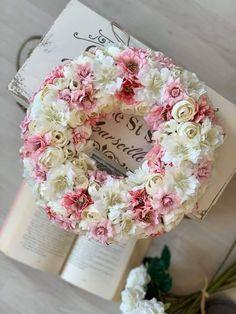 Floral Wreath, Decorations, Wreaths, Home Decor, Floral Crown, Decoration Home, Door Wreaths, Room Decor, Dekoration