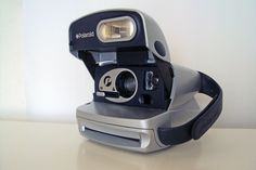 Polaroid 600 P Silber via POLARISMUS. Click on the image to see more!