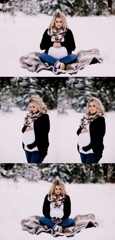 winter maternity photos, outdoor maternity session, canadian rockies photographer, maternity photos, calgary-maternity-photographer - Pregnant Womans World