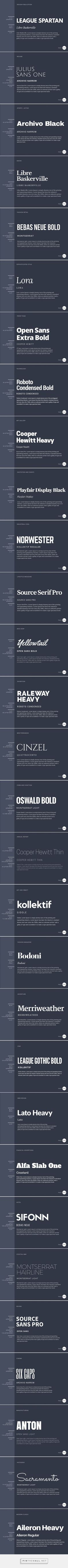 The Ultimate Guide to Font Pairing - created via https://pinthemall.net