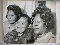 Supreme Moms! Ernestine Ross, Lurlee Ballard & Johnnie Mae Wilson | The photo of the mothers of the Supremes was taken by a Detroit Free Press photographer and appeared in their first magazine story on the Supremes on January 24, 1965. It is on page 144 of my book, Hype & Soul: Behind the Scenes at Motown. The first page of that article is on page 146.