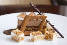 Scott Gerken, Allium (Four Seasons Chicago): S'more w/milk chocolate mousse, toasted marshmallow, sugared graham cookie