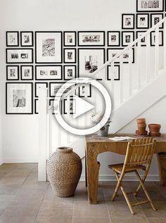 Interior inspiration: zo creëer je een originele fotomuur