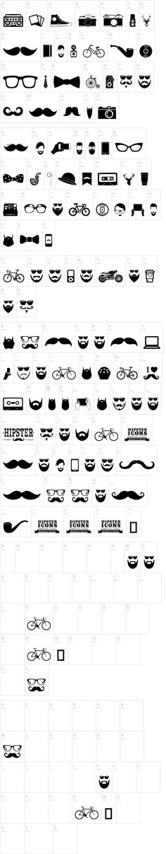 Hipster Icons                                                                                                                                                                                 Plus