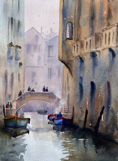 Venice | Joe Cartwright watercolour artist