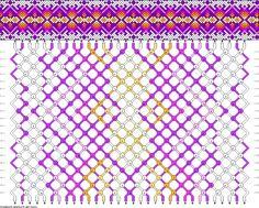 Muster # 84622, Streicher: 32 Zeilen: 20 Farben: 7