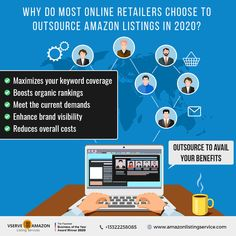 Gain a competitive advantage on Amazon with accurate and high-quality product listing, and enriched content that grabs your customer attention. Outsource your Amazon listing needs to Vserve. Know more about your free consulting and trial. #SellOnAmazon #RetailBusiness #OnlineRetail #Amazon #OnlineBusiness #AmazonStore #AmazonSupportServices #Outsourcing #AmazonSEO Amazon Seo, Sell On Amazon, Amazon Products List, Service Awards, Virtual Assistant, Gain, Online Business, Content, Free
