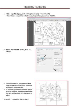 How to Print Patterns | Tutus that Dance