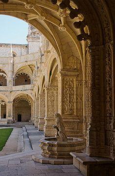 Mosteiro dos Jeronimos, Belem, Lisbon, Portugal