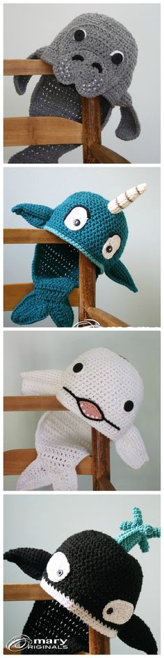 Crochet Fish Hats Super Cute Ideas