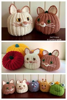 Halloween Crochet Patterns, Easy Crochet Patterns, Crochet Patterns Amigurumi, Crochet Hooks, Crochet Ideas, Crochet Pumpkin, Crochet Fall, Holiday Crochet, Free Crochet