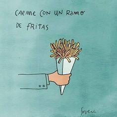 Caeme con un ramo de fritas... (y me caso)  by Severi