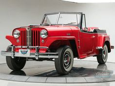 1949 Willys Jeepster Roadster
