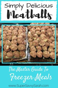Simply Delicious Meatballs, easy meatballs, meatballs recipe, meatball recipe, baked meatballs, baked meatballs recipe, homemade meatballs, turkey meatballs, beef meatballs, turkey and beef meatballs, Super Savvy Sarah