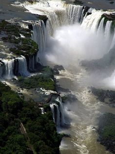 Everyone, I just got some amazing brand name purses,shoes,jewellery and a nice dress from here for CHEAP! If you buy, enter code:atPinterest to save http://www.superspringsales.com -   Iguazu Waterfalls, Argentina  Brazil