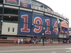 August 2014 Wrigley Field, Chicago !!