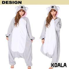 Amazon.com: Japan Sazac Original Kigurumi Adult Pajamas Halloween Costumes Kigurumi Koala Cosplay: Clothing