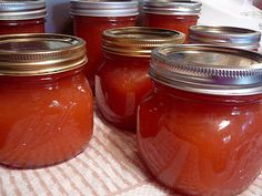 Pink Candy Applesauce (Made with Red hots candy!)
