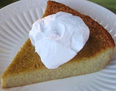 "Easy Flourless Banana Custard ""Cake"" (GAPS/Paleo)  Ingredients:  *3/4 cup salted pasture butter *2 Tbsp honey  *3 ripe bananas  *1 tsp vanilla extract  *5 pastured eggs"