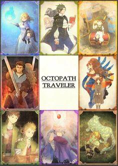 Octopath Traveler, Nintendo, Pokemon, Best Rpg, Little Games, Video Game Characters, Anime, Fire Emblem, Miraculous Ladybug