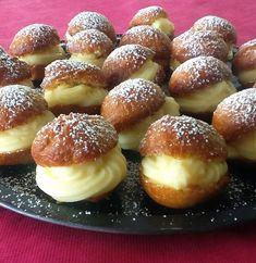 Bakery Recipes, Sweets Recipes, Desserts, Croissants, Flan, Pretzel Bites, Doughnuts, I Foods, Baked Potato