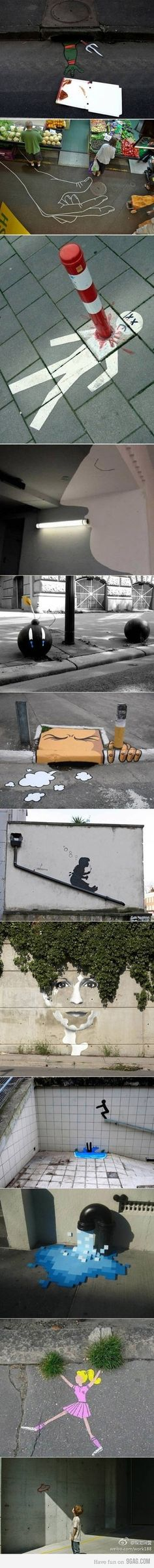 street painting.
