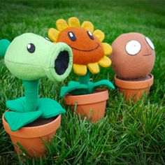 Plants vs Zombies Potted Plushie
