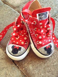 Adorn with Minnie Mouse All Red Personalized Toddler