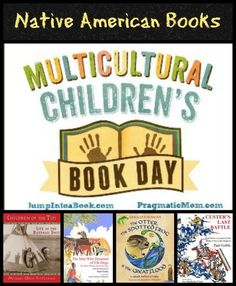 Four American Indian books for kids that feature Native American history and culture. Fantastic, award-winning books.