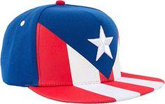 ce2a47457 Amazon.com  Epic Puerto Rico Flag Snapback Hat