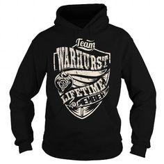 I Love Team WARHURST Lifetime Member (Dragon) - Last Name, Surname T-Shirt T shirts