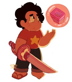 He bubbled Bismuth. There is a difference between shattering and bubbling a gem. It was, nonetheless, very difficult for Steven to do. I have no doubt that Bismuth will be back friends.