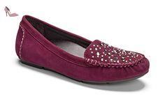 Vionic  Vionic Athens With Fmt Technology, Mocassins femme - Violet - Prune, 38 2/3 - Chaussures vionic (*Partner-Link)