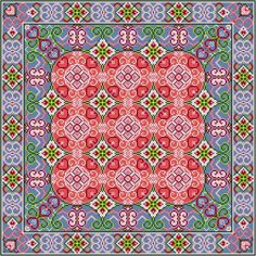 Cross Stitch Embroidery, Embroidery Patterns, Cross Stitch Patterns, Bargello, Smocking, Needlework, Diy And Crafts, Colours, Quilts