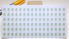 PLANNER STICKER || garden gloves || small colored icons | for your planner or bullet journal by StickersSwissMade on Etsy