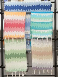 Love the Fouta Ethnic Jacquard Towel!   Designed with the most intricate combination of colors, it is comprised of a unique looming process for optimal absorbency and softness that will allow you to enjoy them as a bath towel, a beach towel, a wrap or a bohemian touch in your home.