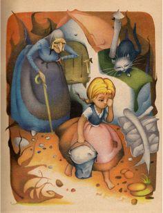 Hansel and Gretel, Grimm, Illustrations Adriana Mihailescu, 1989