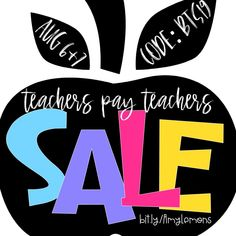 Save on teaching resources for back to school! Use code BTS19 for up to 25% off of Teachers Pay Teachers