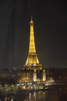 Paris at nightime!