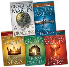 A Game of Thrones series - George R. R. Martin
