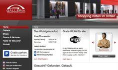 Galleria Landstrasse - www.galleria.at / Startseite © echonet communication GmbH