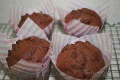 Tartas sin Gluten .....365 dias sin gluten: Muffins Chocolatisimos Sin gluten