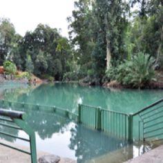 River Jordan (where tourists can be baptized)