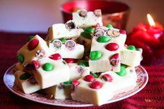 Hvit sjokoladefudge