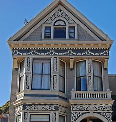 San Francisco, Victorian House Detail (photo  by jcc55883)