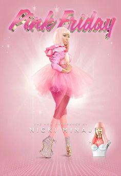 Nicki Minaj (PINK Friday Fragrance Ad)