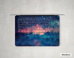 Red Cloud MacBook Air Sticker Keyboard Decal Full Skin For