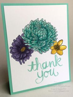 Forever Florals Thank you Card